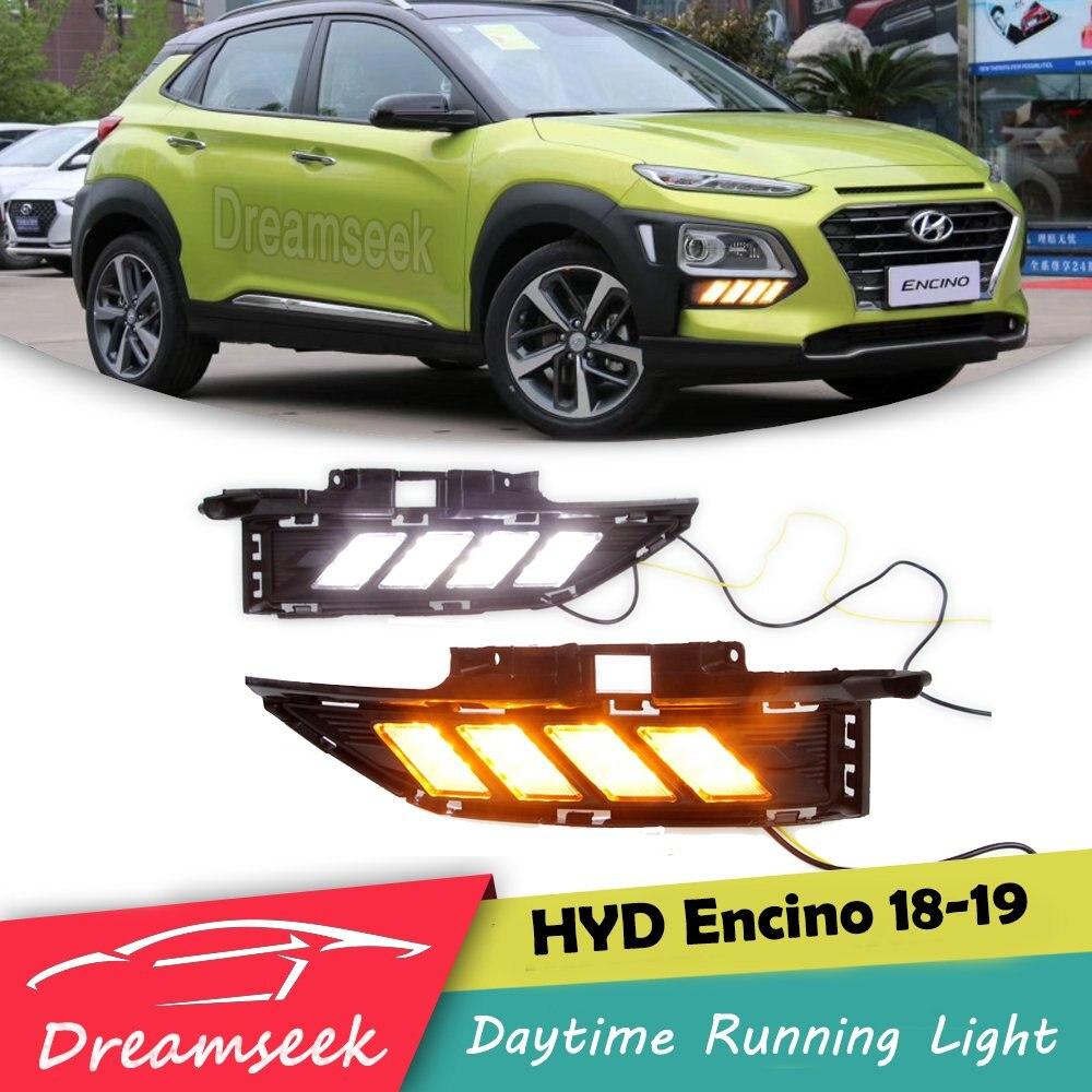 Sncn Led Daytime Running Light For Hyundai Kona 2018 2019: LED DRL For Hyundai Encino Kona 2018 2019 Daytime Running