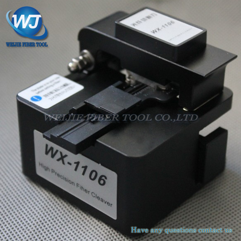 WX-1106 optical fiber cutting knife cable fiber cleaver hot melt cold joint general high precision optical fiber cutting knifeWX-1106 optical fiber cutting knife cable fiber cleaver hot melt cold joint general high precision optical fiber cutting knife