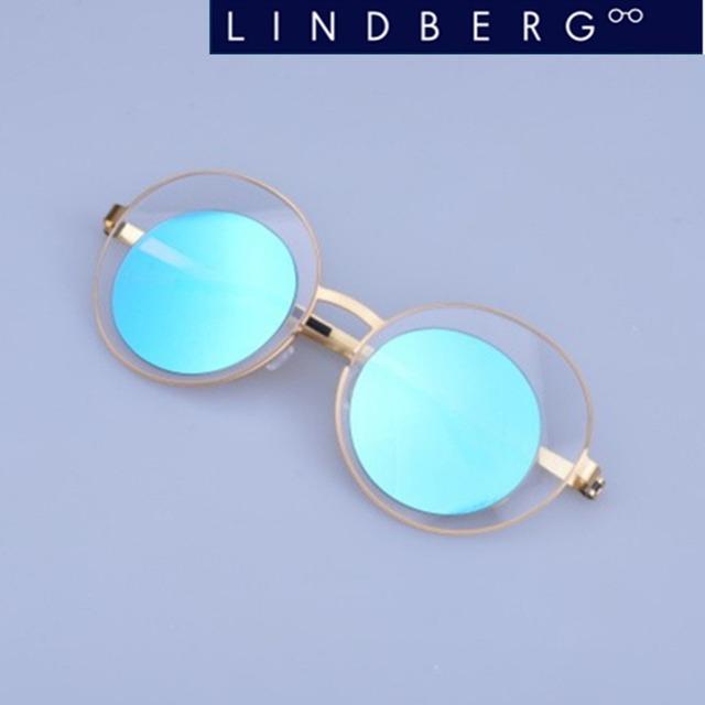 New espelho retro óculos de sol óculos de sol da marca screwless original qualidade do vintage óculos de sol oculos eyewear do frame