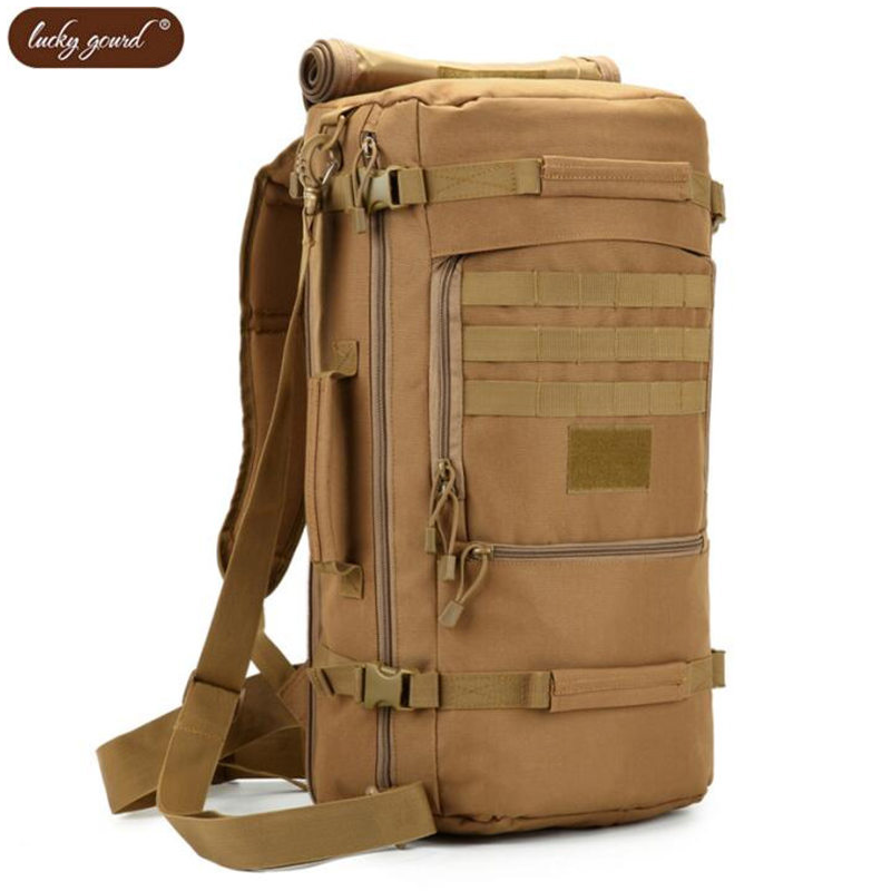 Men's bags backpack Bags 50 l tourist water-proof military laptop Fashion best aircraft backpack casual flag hologram for sale