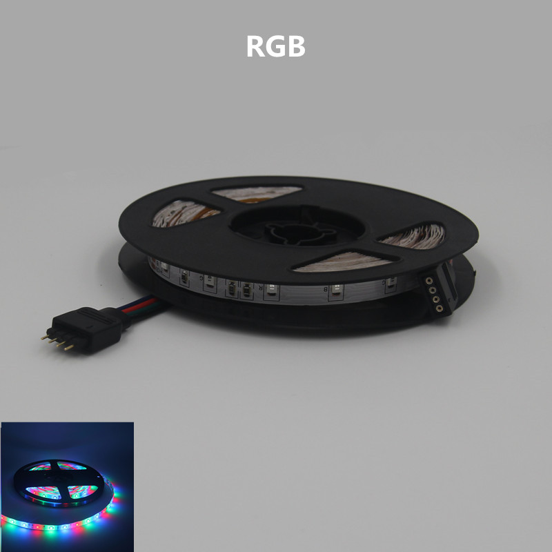 led strip no waterproof 300leds Flexible lamp belt Super bright RGB led light 12v DC Red Bule Warm White