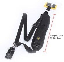 Quick Rapid Camera Single Shoulder Black Sling Strap For Canon Nikon Sony Pentax DSLR Camera