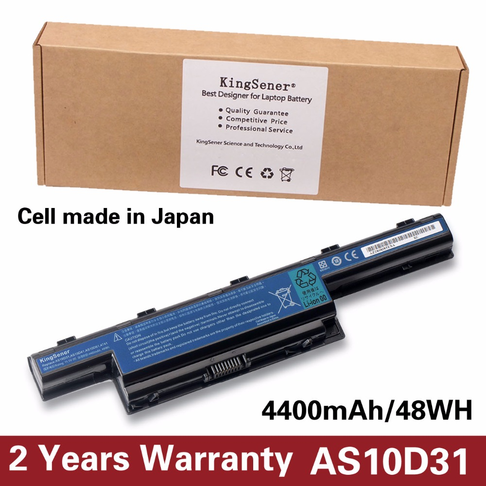 KingSener Japanese Cell New AS10D31 Battery For Acer 4551G 4741G 5741G 5742G 5750G 7750G 7760G AS10D51 AS10D71 AS10D81 AS10D73 планшет acer switch one 10 z8300 532gb