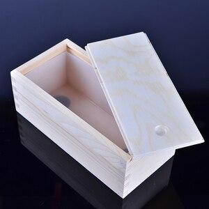 Image 4 - ماكينة صناعة أجزاء سيليكون صغيرة قالب الصابون مستطيل قالب رغيف مع صندوق خشبي لتقوم بها بنفسك أداة صنع صابون يدوي الصنع