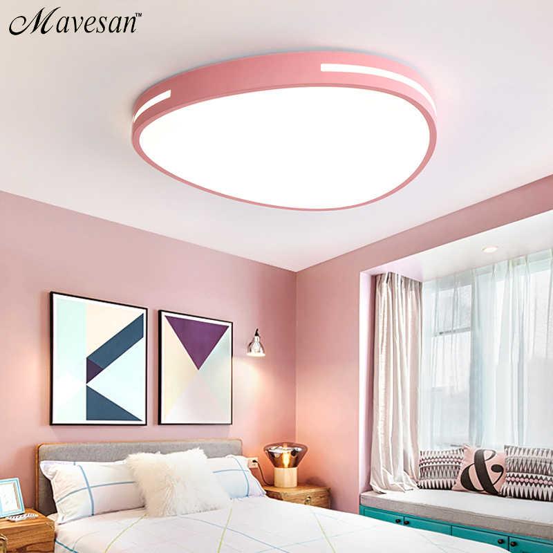 Современные светодиодные потолочные светильники для гостиной, спальни, кухонная люминария, ультра-тонкий светодиодный потолочный светильник 5 см