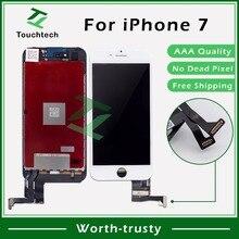 """20 шт./лот 4,"""" белый и черный iPhone 7 ЖК-дисплей для iPhone 7 Замена экрана ЖК-дисплей без битых пикселей с сенсорным дигитайзером в сборе"""