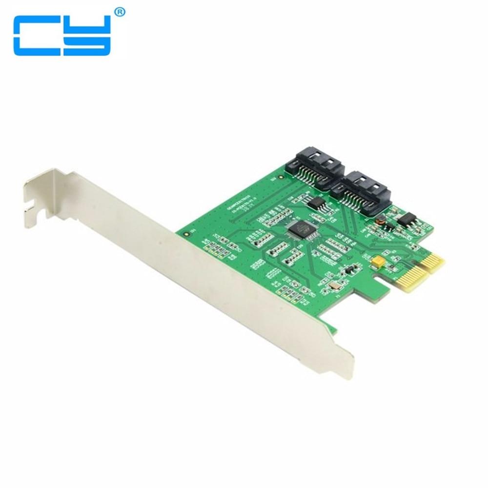 Low Profile Dual Ports Internal PCI-Express PCIE PCI-E express pci express SATA 3.0 6Gb/s Expansion adapter Card Marvell Chipset marvell chipset 8 ports sata 6gb pci express controller card pci e to sata 3 0 converter ncq sata port multiplier