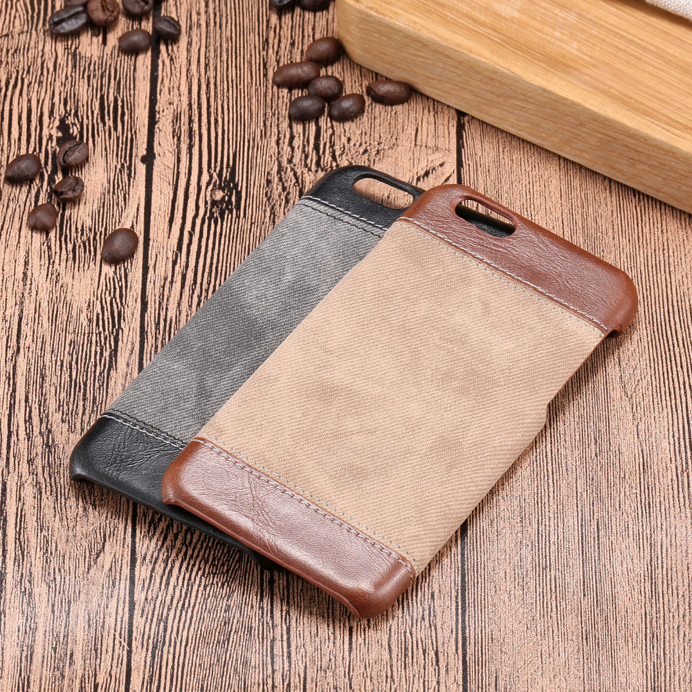 6 6S 4.7 5.5 Luxury Jeans Pattern Back Cover For iPhone 6 6S / 6 6S Plus High Quality Phone Cases Accessories for Apple iPhone