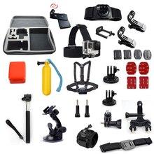 for gopro Accessory kit Monopod ram mount Holder Adapter Selfie Stick For go pro hero5 4 3 xiaomi yi 4k sjcam sj4000 sj6 legend