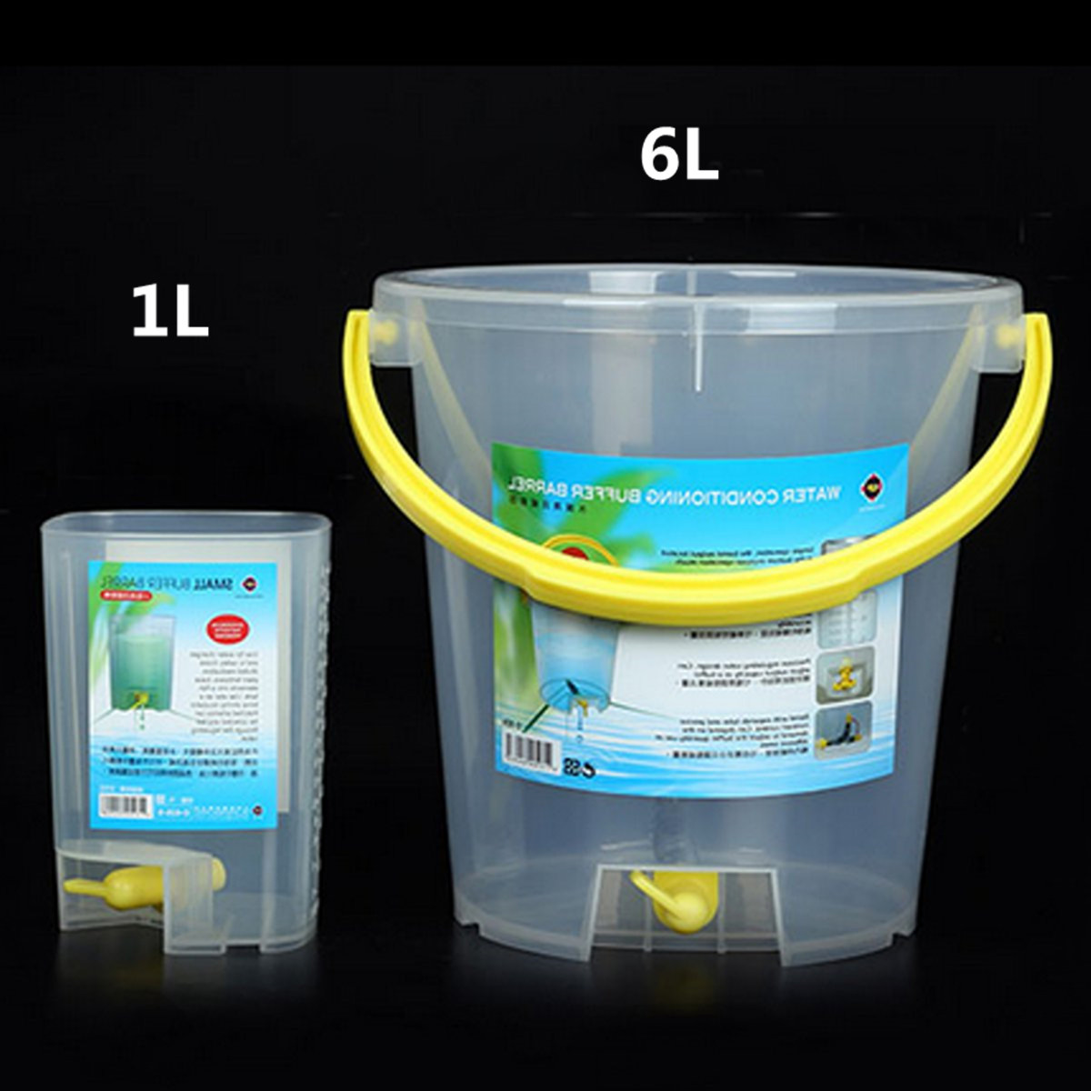 Aquarium Drip Bucket Water Exchange Slow Drop Fish Shrimp Tank Refill Change Buffer Equalizer Fertilization Replenishment