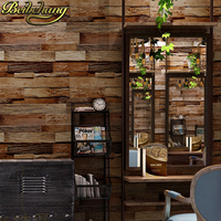 beibehang Brick wallpapers for living room Stone Vinyl Wallpaper 3D Retro Brick Wall Industrial Cafe decoration home restaurant