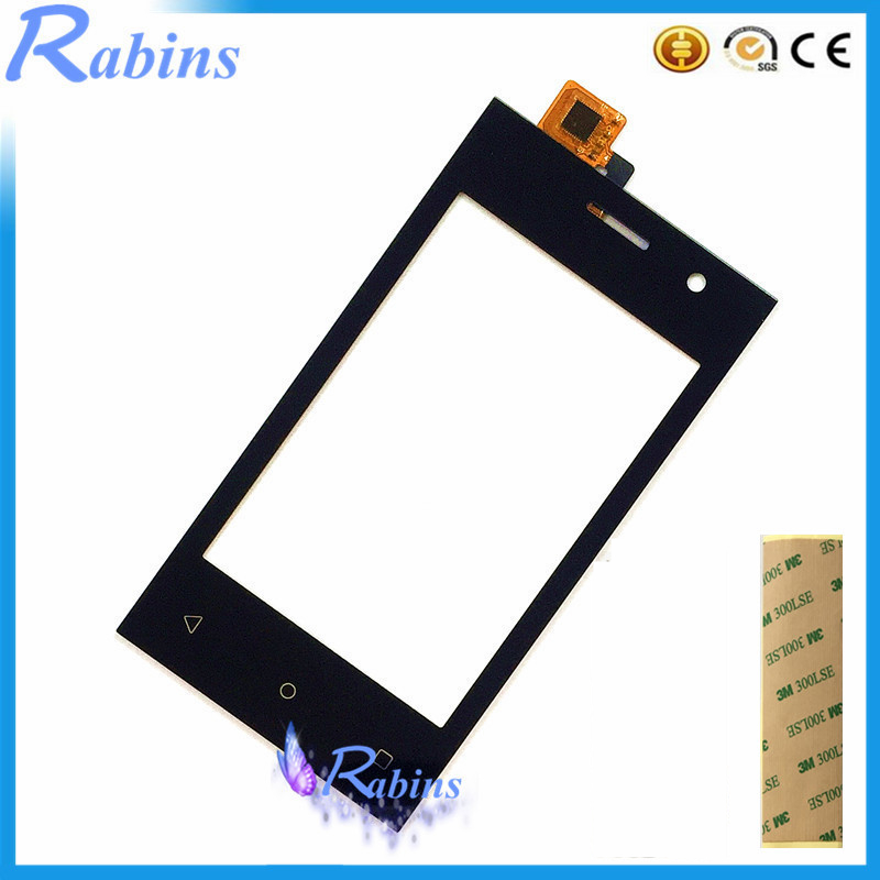 SYRINX 4.0 Inch For Highscreen Pure J Touch Screen Digitizer Sensor Front Glass Lens Touch Panel Touchscreen 3m Tape
