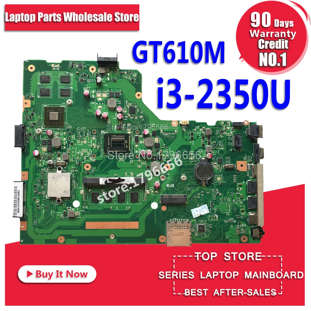 Original for ASUS X75VD motherboard X75VD REV3.1 Mainboard Processor i3-2350 GT610 1G RAM 4G Memory On Board 100% test original for asus x75vd motherboard x75vd rev3 1 mainboard processor i3 2350 gt610 1g ram 4g memory on board 100% test