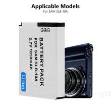 1 шт. 3,7 V SLB-10A SLB10A SLB 10A Камера Батарея для samsung PL50 PL60 PL65 P800 SL820 WB150F WB250F WB350F WB750 WB800F WB500