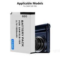 1 Pc 3,7 V SLB-10A SLB10A SLB 10A Kamera Batterie für Samsung PL50 PL60 PL65 P800 SL820 WB150F WB250F WB350F WB750 WB800F WB500