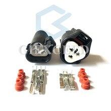 2 комплекта 3 Pin 6189-0179 11016 светильник разъем двигателя для Toyota Camry Corolla Honda Accord Fit Civic катушка зажигания вилка