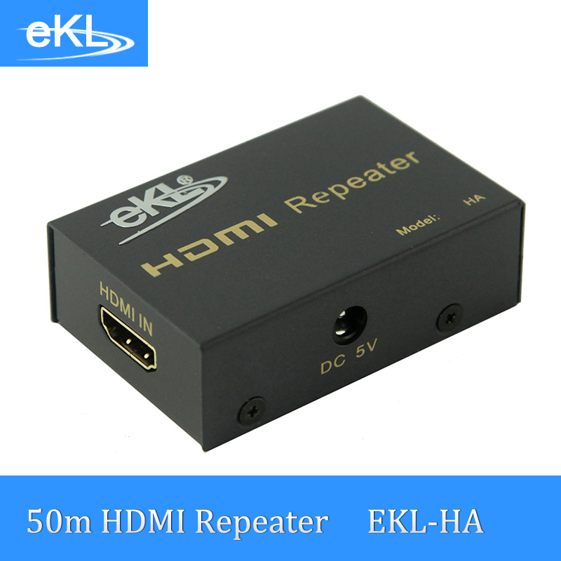 EKL HDMI Repeater Extender HDMI Amplifier 1080P ce link 2020 hdmi repeater signal amplifier extender line driver 40 meters