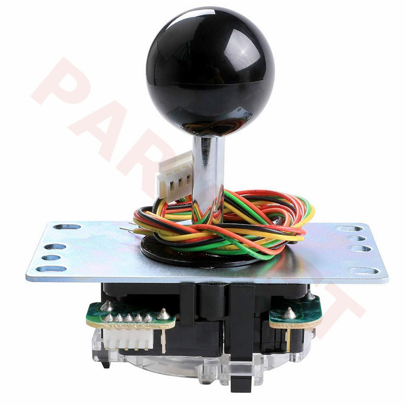 Original Brand New JLF-TP-8YT Japan Sanwa Joystick Fight Rocker With Ball Top Handle Arcade Joystick Part 4 & 8 Way Adjustable
