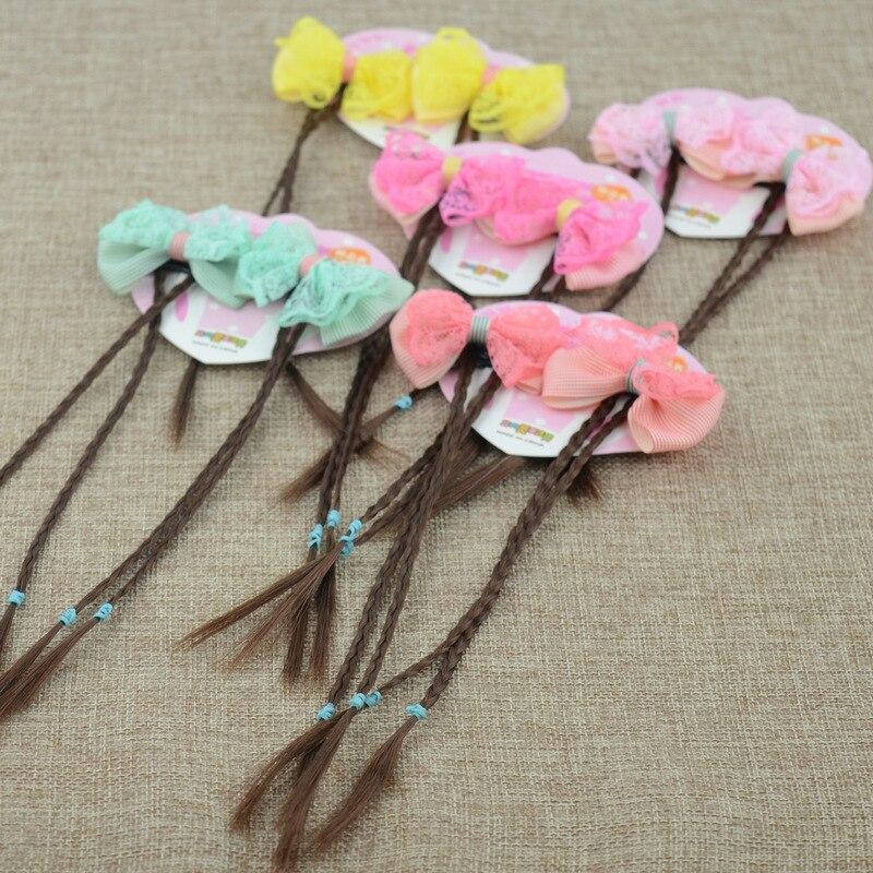 Плетеные заколки для волос