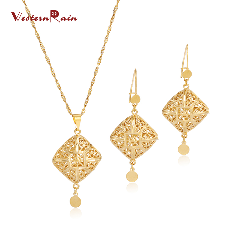2017 fashion dubai gold chain dangle pendant earrings necklace 2017 fashion dubai gold chain dangle pendant earrings necklace jewelry set lovely vintage hollow out necklace women g695 in jewelry sets from jewelry aloadofball Images