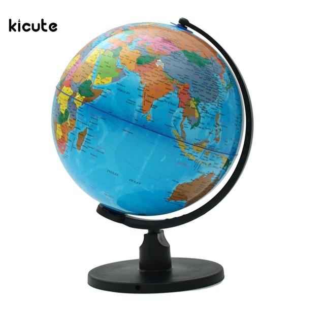 Globus Karte.Us 20 6 32 Off 25 Cm Globus Karte Mit Schwenker Standplatz Karte Der Erde Geographie Lernprogramm Bücherregal Shop Schule Büro Desktop Decor