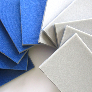 Image 3 - 10PCS เปียกแห้ง Flocking ฟองน้ำขัด Self adhesive แผ่นกระดาษทรายรูปสี่เหลี่ยมผืนผ้า 58*100 มม.300 3000 กรวดขัดขัดเครื่องมือ