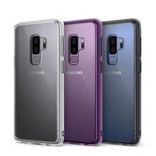 Ringke Fusion עבור גלקסי S9 מקרה Tpu גמיש ברור קשיח חזרה כיסוי היברידי טלפון נייד מקרה