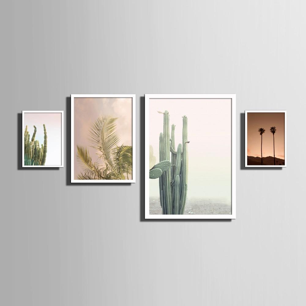 Nordischen stil Kunstdruck Gerahmte Leinwand Malerei Kunst Kaktus ...