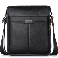 High Quality Cowhide Genuine Leather Briefcase Laptop Bag Men Bag Handbags Business Portfolios Man Shoulder Bag