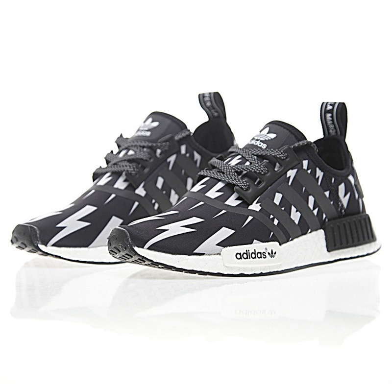 Adidas Neil Barrett X Adidas NMD R 1 Boost ,Authentic Women's Comfort Lifestyle Running Shoes,Women's Sneakers, Black BA7561 in Running Shoes from