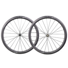 ICAN 700C carbon super light wheels 40C clincher disc brake cyclocross wheel with Novatec straight pull hub Sapim CX-Ray spokes free shipping carbon disc wheel road disc wheel bicycle wheel 700c cycling track disc wheels
