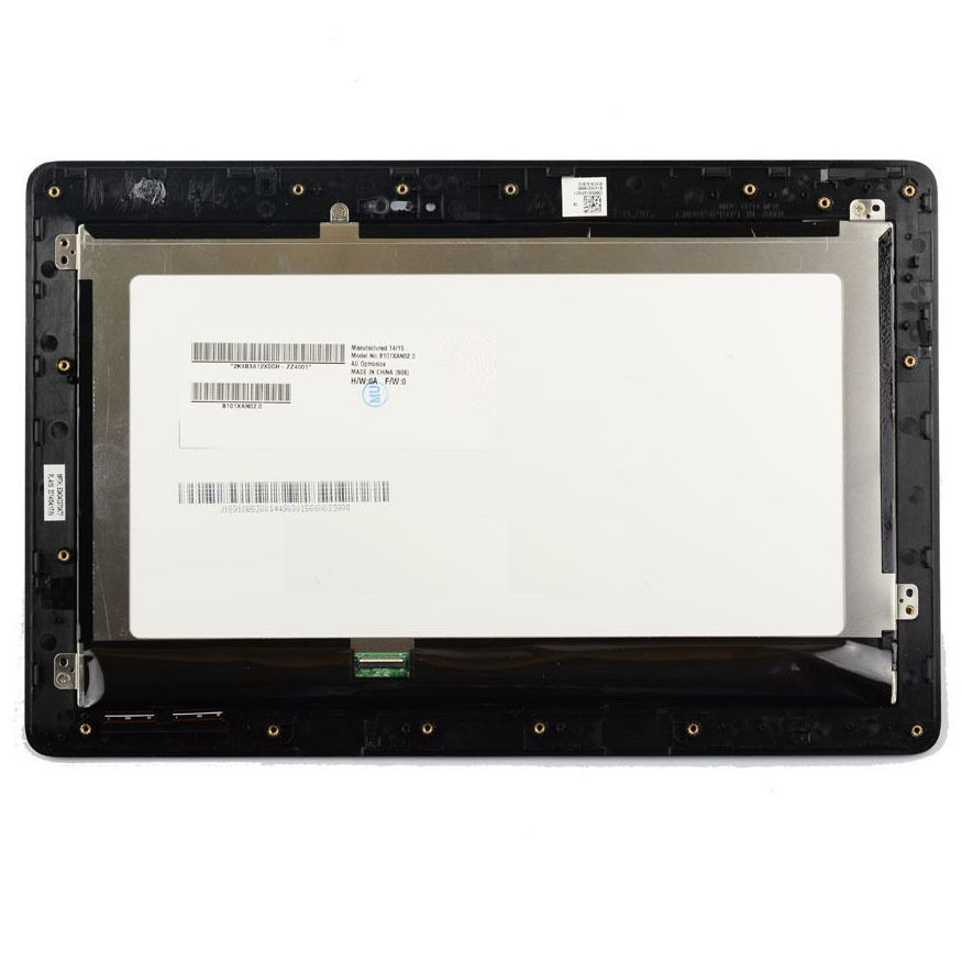 display assembly with touchscreen and frame fastening for ASUS for Transformer Book T100TA, T100T, T100 (with used), black