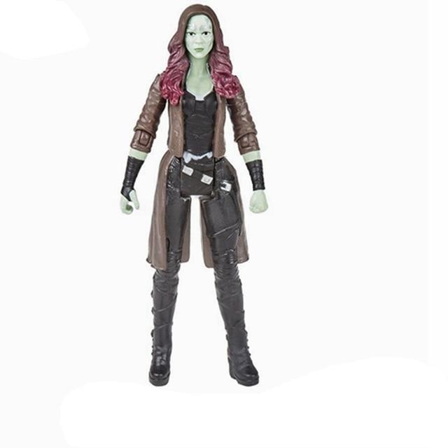 "6 ""Marvel Legends Gamora Action Figure Boneka Mainan Brinquedos Figurals Dekorasi Koleksi Model Hadiah"