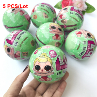5 PCS Lot LOL Surprise Doll Magic Funny Removable Egg Ball Doll Toy Educational Novelty Kids