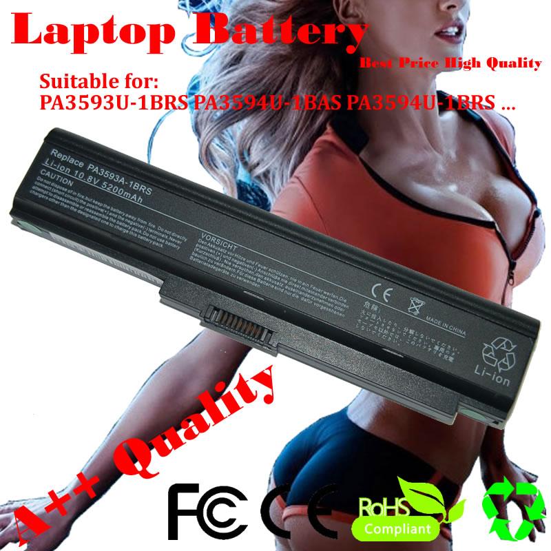 JIGU PA3593U 1BAS PABAS110 PA3594U 1BRS Laptop batarya için Toshiba Equium A100 U300 Portege M600 Satellite Pro U300 serisi|Dizüstü Bilgisayar Bataryaları|Bilgisayar ve Ofis -