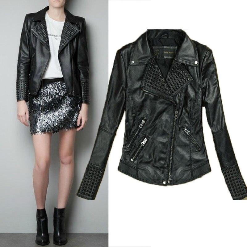 Women Pu Leather Jacket Suede Womens Jackets Women Jacket Leather