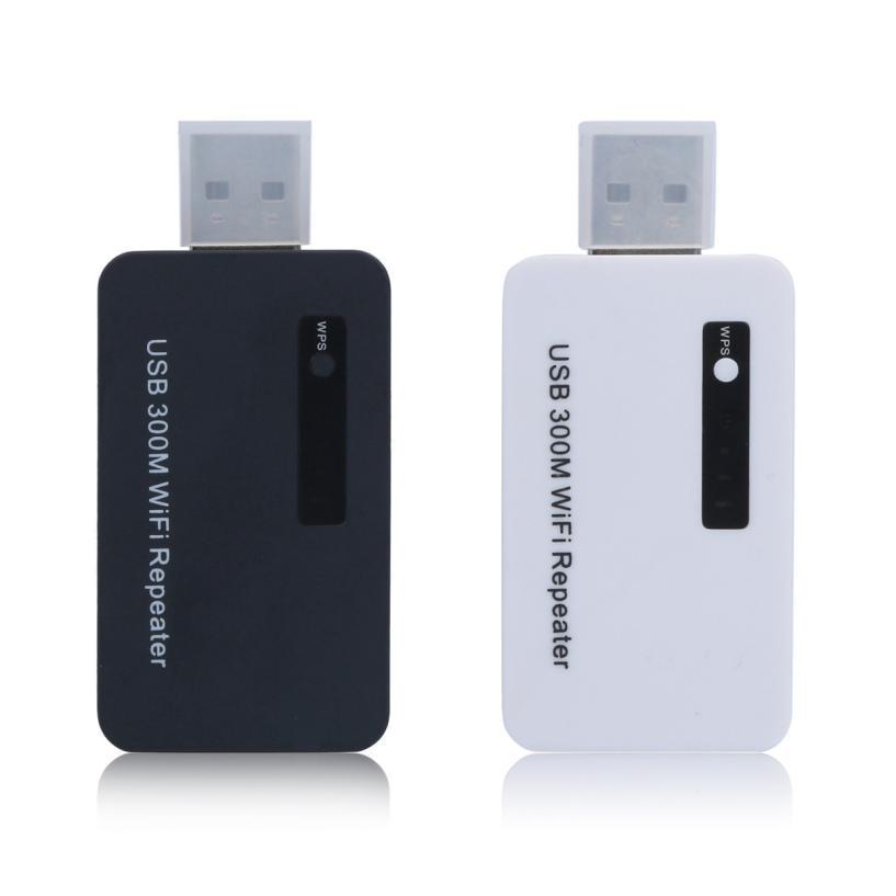 Good Sale USB 300M WiFi Repeater Wireless Mini USB Network Router Signal Range Extender Apr 26