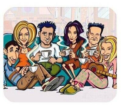 Friends Wallpaper Tv Series Minimalist Poster