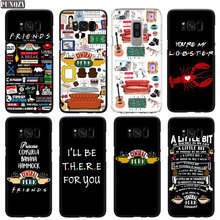 PUNQZY Friends TV Show CENTRAL PERK Phone Case For S10 S8 S9