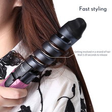 Electric Hair Curler 110-220V 45W Professional Spiral Curling Iron Wand Curl Styler Styling Tools Hair Modeler 35D