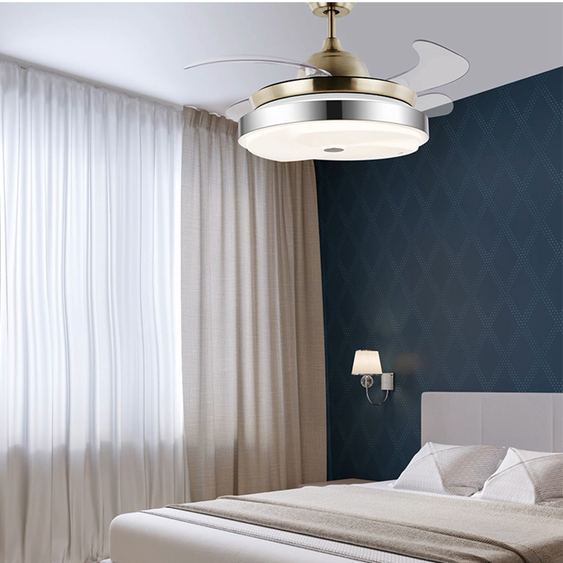 Silent Fans For Bedroom: LukLoy Invisible Fan Light Healthy Energy Saving Ultra
