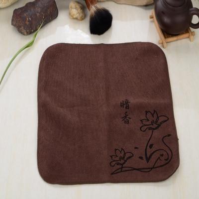 30*30CM Superfine Fiber Tea Towels, Absorbent Strong, Kung Fu Tea Towels, High-Grade Tea Cloth, Kungfu Tea Tools