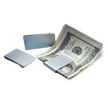 Aluminum font b Money b font font b Clip b font Metal Business Card Credit Card