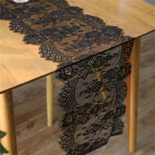 Europe Lace Flower Embroidery Table Runner Flag Modern Solid Tablecloth Tea Table Cover for Wedding Party Home Decor Christmas цена
