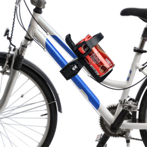 Image 3 - Motorcycle Bike Drink Holder Bicycle Cup Holder Water Bottle Coffee Clip Mount Stand Car styling Outdoor Sports