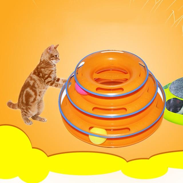 Neue Lustige Katze spielzeug 25*14*16 cm Katze Spielzeug Intelligenz ...