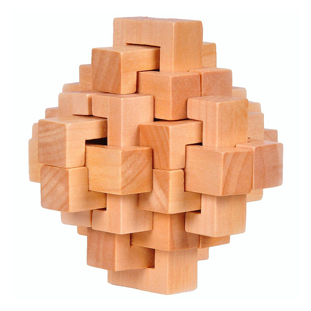 Woodpuzzle Brain Teaser Toy Games For Adults / Kids