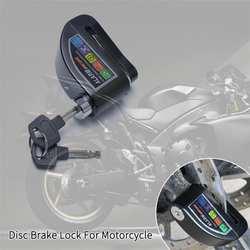 Диск для мотоцикла тормозной замок мотоцикл Скутер велосипедный алюминиевый сплав противоугонное колесо дисковый тормоз замок охранная