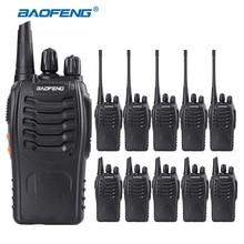 10 PCS/lot Baofeng BF-888S Talkie Walkie 5 W De Poche Talkie Walkie bf 888 s UHF 400-470 MHz 16CH deux Voies Raio Émetteur-Récepteur Portable