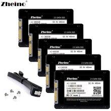 Zheino 2,5 дюймов SATAIII SSD 60 ГБ 120 ГБ 240 ГБ 360 ГБ 480 ГБ 960 ГБ 1 ТБ 128 ГБ 256 ГБ 512 ГБ Внутренние твердотельные накопители диск SSD